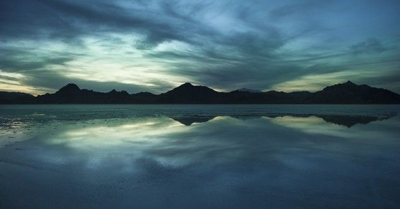 Great-Salt-Lake-Blue-Sunset