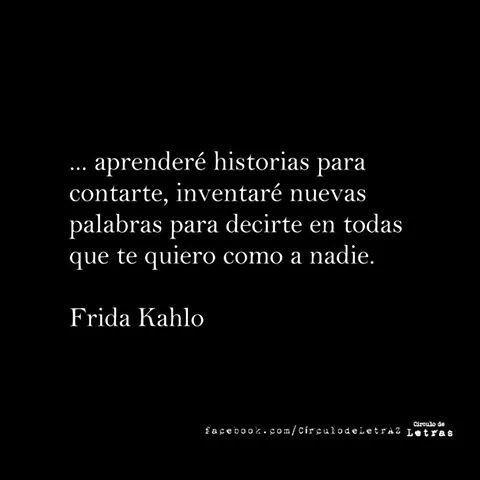 Poema de Amor de Frida Kahlo