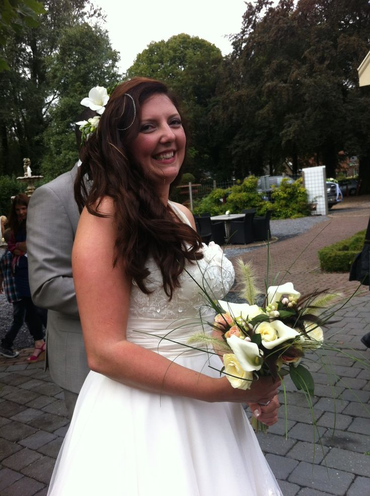 Wedding bouquet made by Grasbalkon.nl