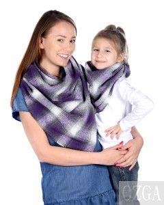 Komplet chusta mama i córka