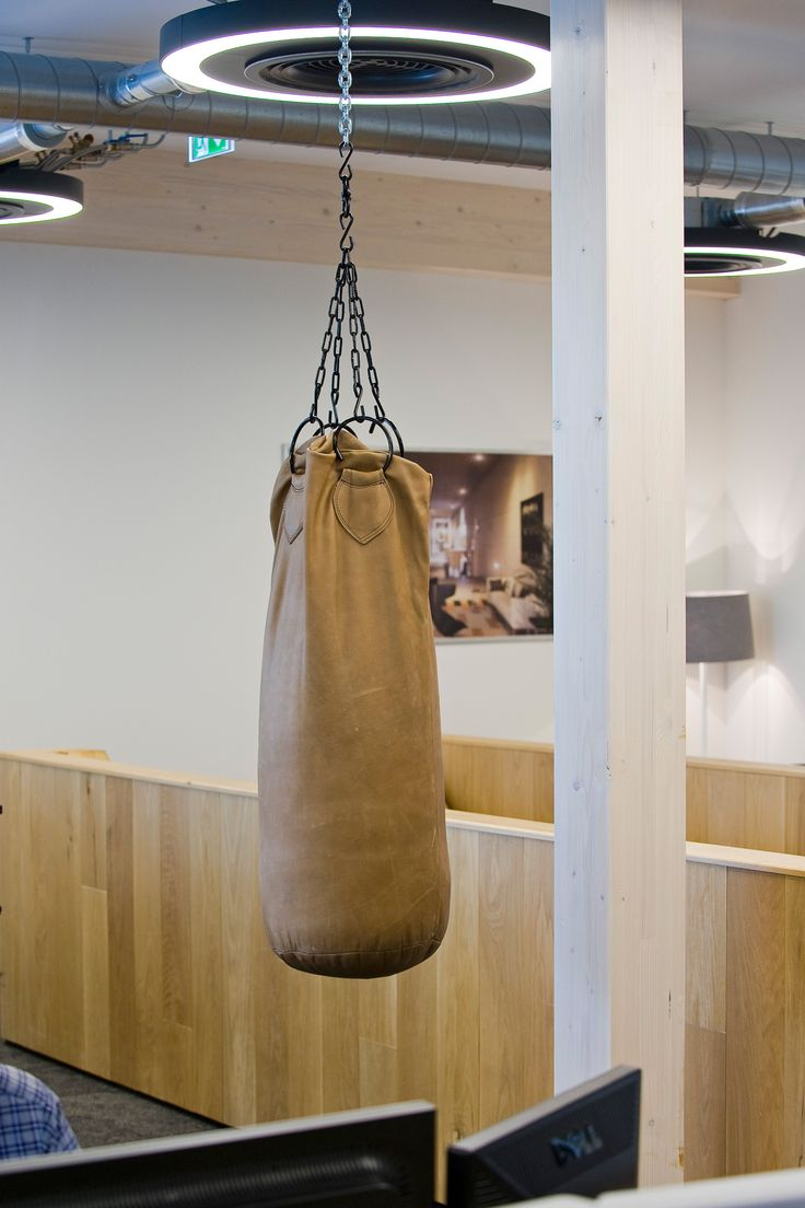 Office Interior Design By All In Living For Waterline Capital  Boxing Ball.  Www · Office Interior DesignPunching BagBoxing