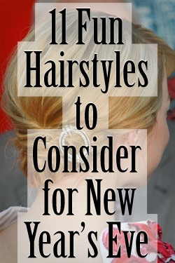 The perfect NYE outfit isn't complete without the perfect hair of course ;)      http://www.latest-hairstyles.com/trends/hairstyles-for-new-years-eve.html