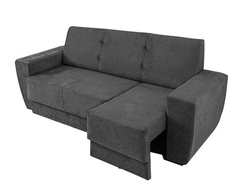Sofá 3 Lugares Assento Retrátil Edge 1686 Suede Amassado - 6 Cores Disponíveis << R$ 49999 >>