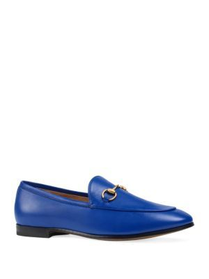 GUCCI Jordan Leather Loafers. #gucci #shoes #