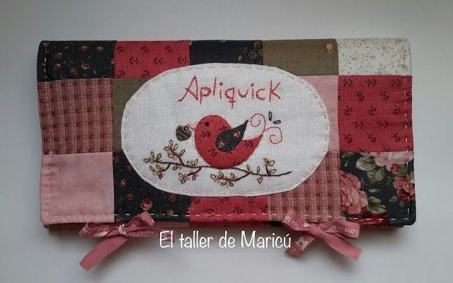 El taller de Maricú: Estuche Apliquick.