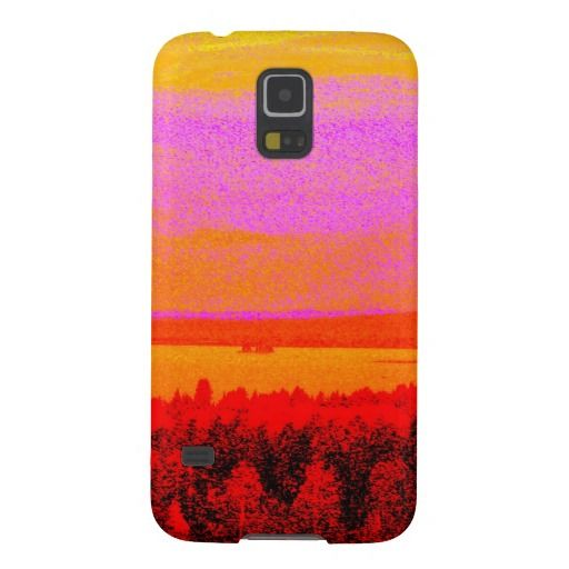 Sunset glow galaxy nexus cases