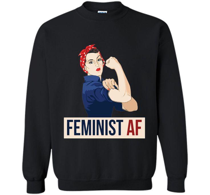 Feminist AF shirt rosie riveter Feminism teeshirt