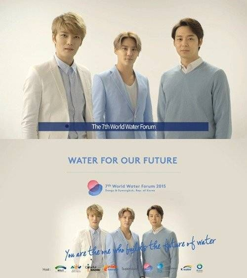 JYJ's '7th World Water Forum' CF to be aired on BBC, CNN, Arirang TV, and more   allkpop