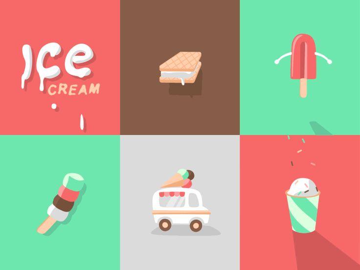 Ice Cream GIF #animation #gif