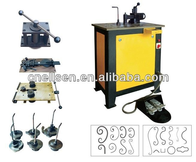Alibaba Manufacturer Directory - Suppliers, Manufacturers, Exporters & Importers-Flat Iron Rolling Bending Machine  scroll bending also