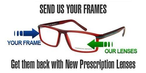 Send Us Your Frames - We Put In New LensesThe Premium Eyeglass Lenses Replacement Service http://lensesrx.com/293-supply-your-own-frames.html?gclid=CJG79vKmrL8CFdBi7AodIAIAbg#.U92bbWMTM3P