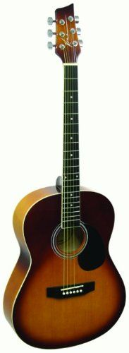 Kona Guitars K391L-HSB Parlor Series Acoustic Guitar with Precision Enclosed Tuners. Left Handed. Precision enclosed tuners. 10 year warranty.