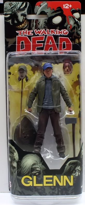 THE WALKING DEAD COMIC SERIES 5 GLENN ACTION FIGURE - NEW & IN STOCK! #McFarlaneToys