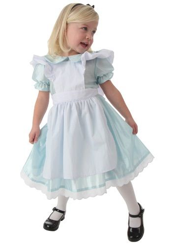 She can't wait to be a princess one day! This Toddler Alice Costume is the perfect costume for little girls.