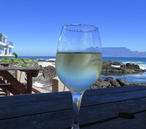 Wine time at On the Rocks!