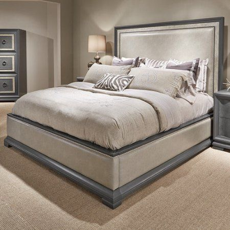 Legacy Classic Furniture Tower Suite Upholstered Panel Bed