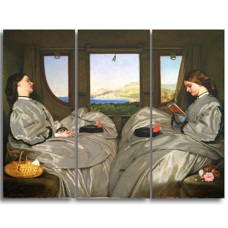 Design Art 'Augustus Leopold Egg - The Travelling Companions' Art Print
