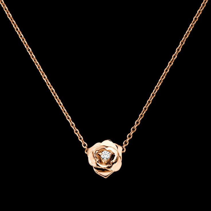 Rose gold Diamond Pendant G33U0081 - Piaget Luxury Jewelry Online