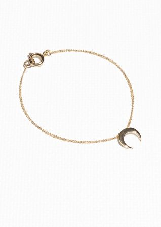 & Other Stories | Crescent Moon Bracelet