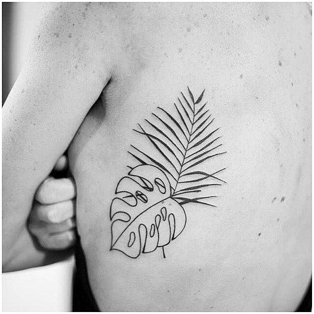 #WomensTattoo #WomensTattooIdeas Palmas para Ana Paula. Gracias por la paciencia y el temple. Artista Tatuador: Alan Shepard click for more i… | Tattoo | Tatuajes pequeños, Tatuajes de flores y Tatuaje botánico