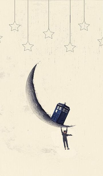 Doctor Who ♥ cell phone background