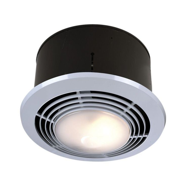 Nutone Round Bathroom Fan Light   Bathroom Exhaust Fan Fixtures Are Just As  Significant As Several Other Attributes In That