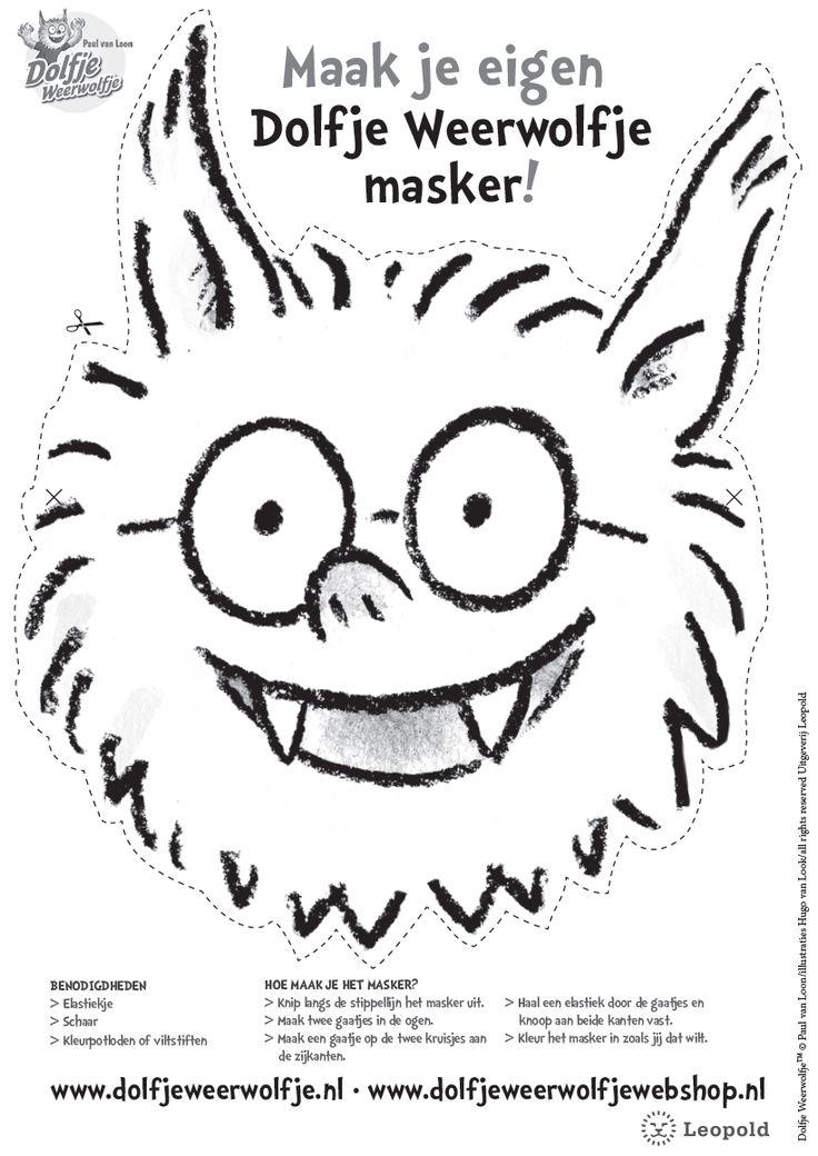masker dolfje weerwolfje