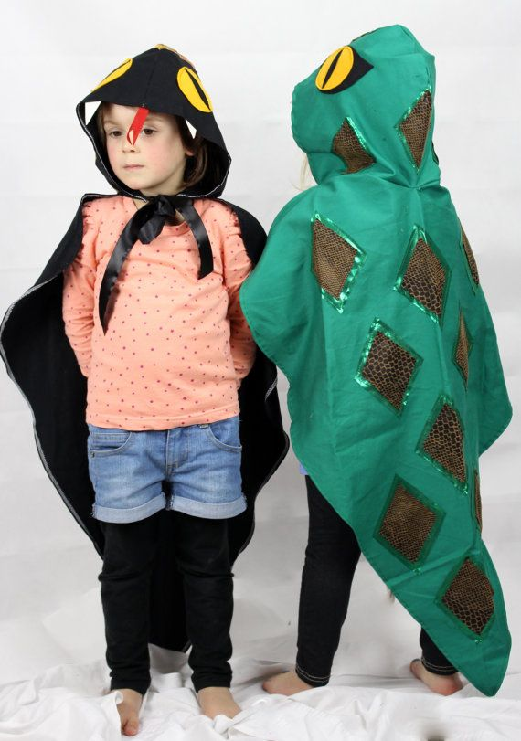 Snake Costume Cape Childrens costume by sparrowandbcostumery