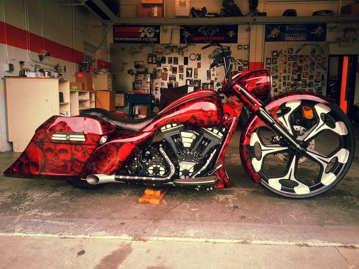 big wheel bagger