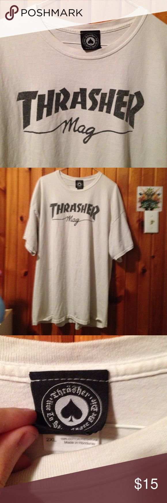 Thrasher mag t-shirt sz XXL Size 2XL Thrasher mag shirt, good condition Thrasher Magazine Shirts Tees - Short Sleeve