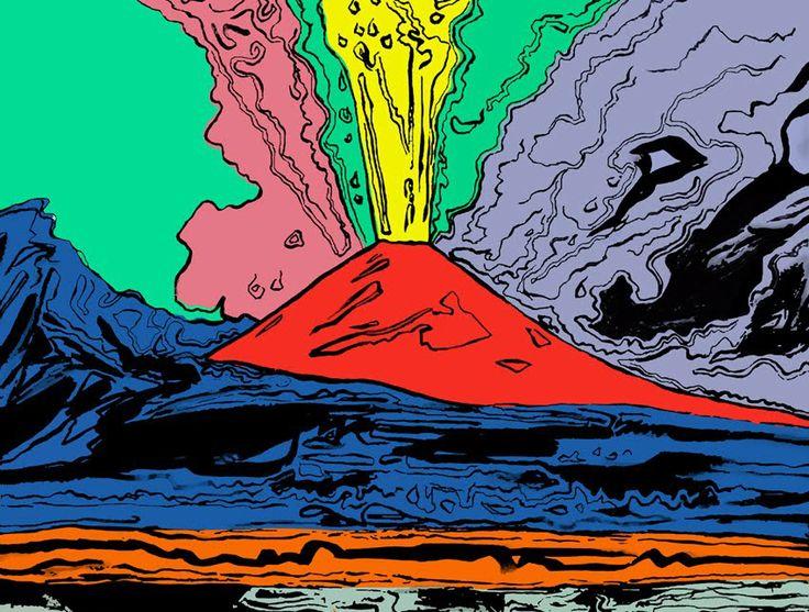 Andy Warhol, Vesuvius - See more at: http://www.tripartadvisor.it/andy-warhol-pan-napoli/