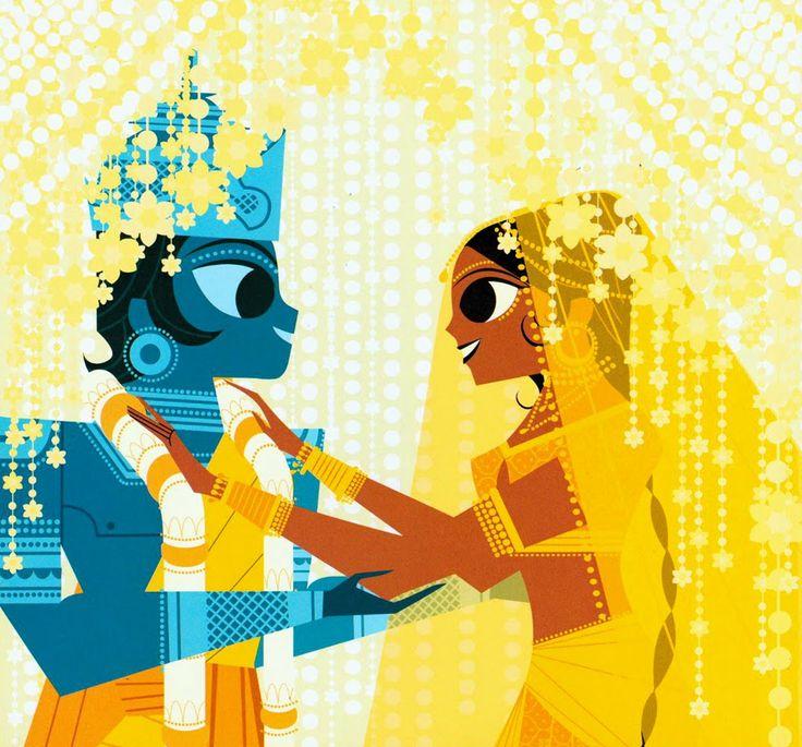 Krishna by Sanjay Patel