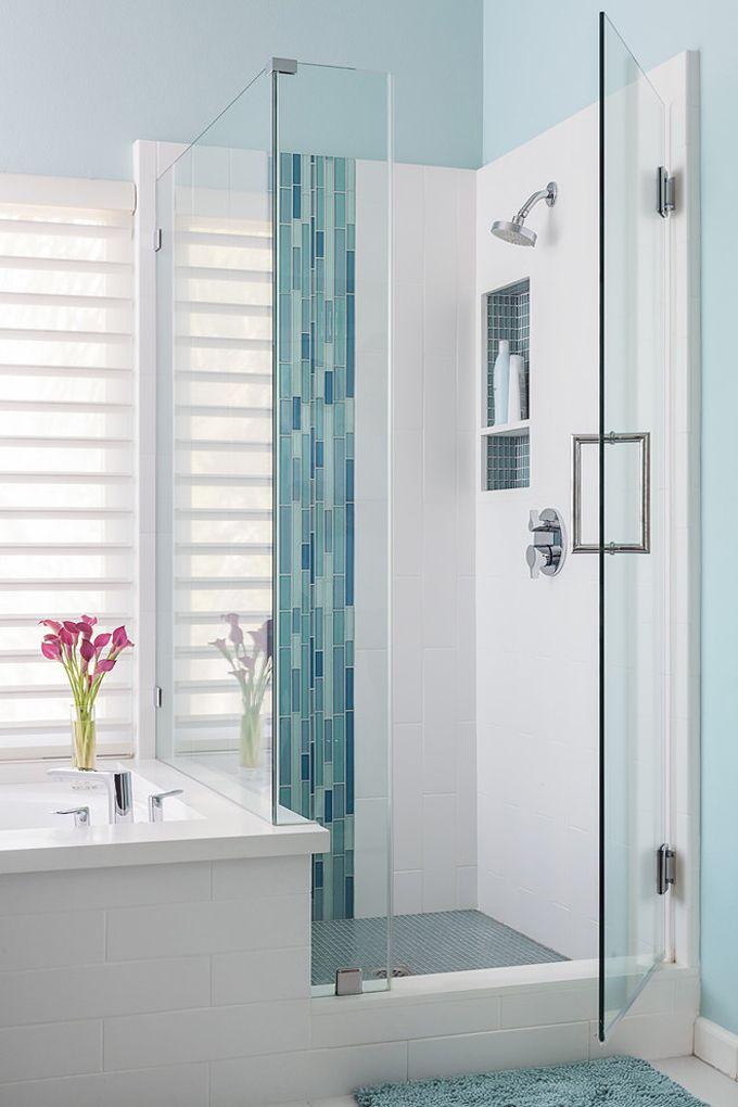 1000 ideas about accent tile bathroom on pinterest - Bathroom accent tile design ideas ...