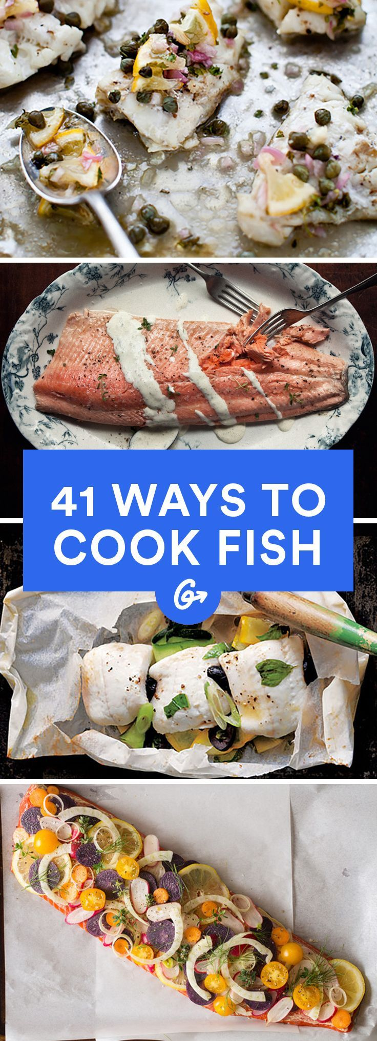 Fish is one of the healthiest proteins on the planet. (Sorry, chicken breasts!) #fish #recipes http://greatist.com/eat/healthy-fish-recipes