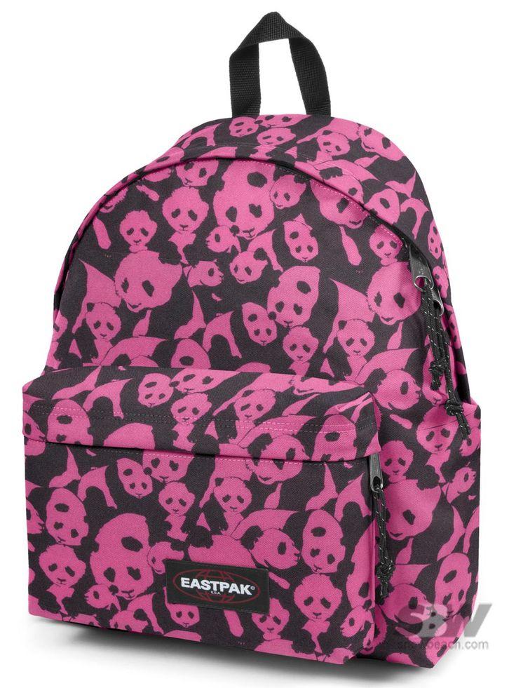 eastpak padded panda phobia 42 50 bags book bags pinterest bag. Black Bedroom Furniture Sets. Home Design Ideas