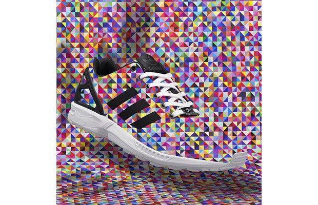 "The adidas Originals ZX Flux ""Multicolor Prism"" Is Being Restocked"