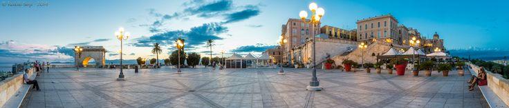 Bastione di Saint Remy - Cagliari