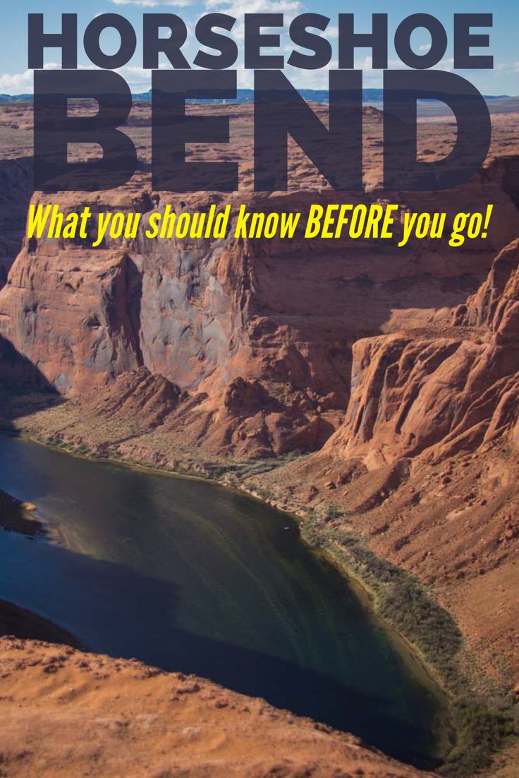 Check out these tips for hiking to Horseshoe Bend, an overlook to a spectacular bend in the Colorado River. This short hike is near Page, Arizona and Lake Powell.
