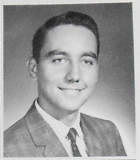 Bob Gunton's Senior Class Picture 1963/Army Vietnam/ bronze star