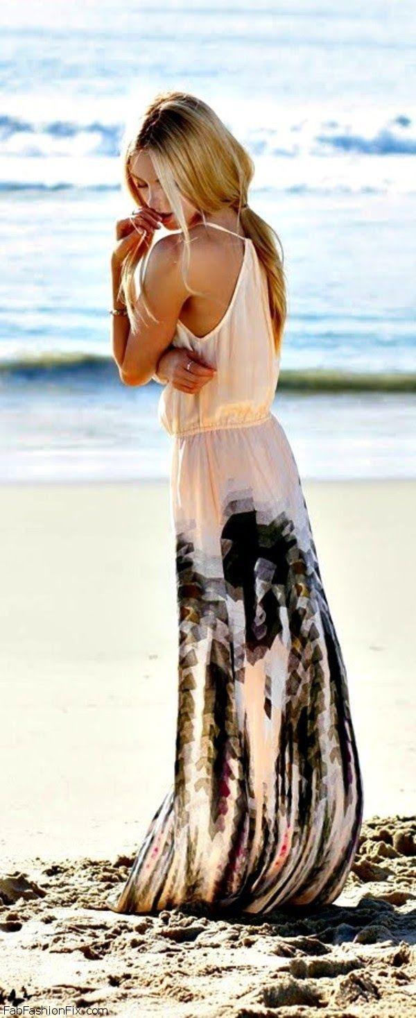 Pretty, feminine maxi dress