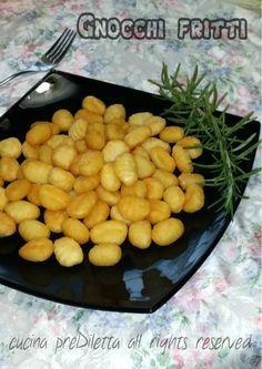 Gnocchi fritti, ricetta sfiziosa, cucina preDiletta
