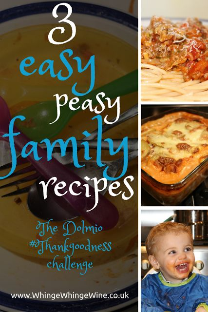 Three easy peasy family recipes my toddlers will eat: Dolmio #ThankGoodness challenge