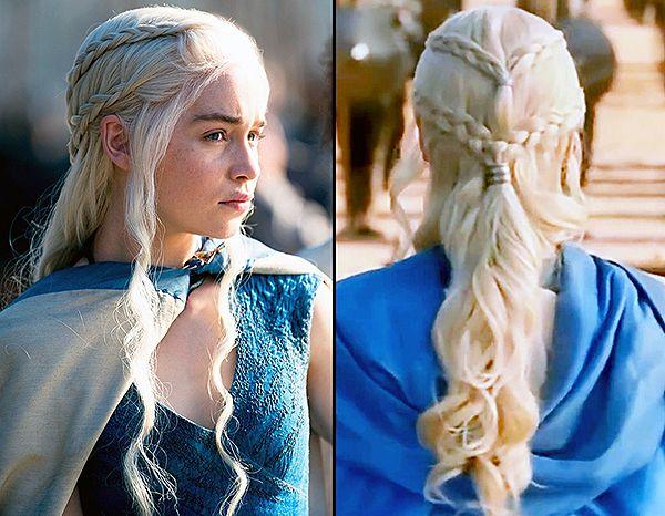 Game Of Thrones Khaleesi Daenerys Targaryen Hair