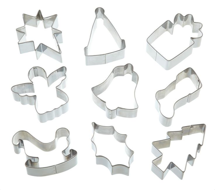 Plastic Christmas Cake Decorations Tesco : The 76 best images about Cookie Cutters on Pinterest ...