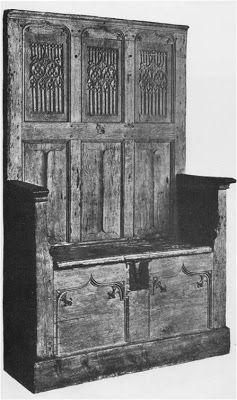 Mobiliário Gótico :: História, Arte, Arquitetura e Mobiliário