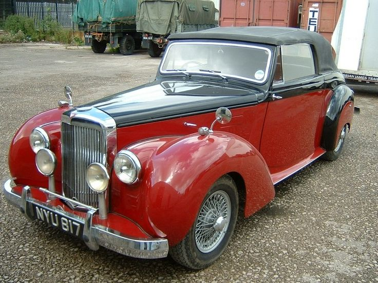 1953 Alvis TA21 Tickford Drophead Coupe