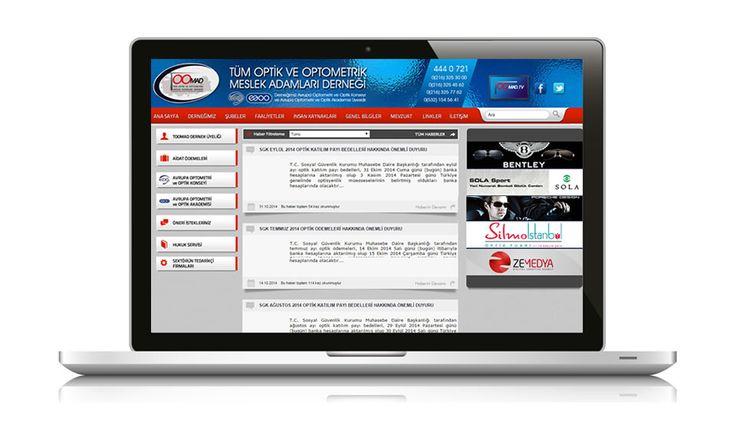 Türkiye'yi optik ve optometrik mesleklerin icrası konusunda geliştirmeyi amaçlayan TOOMAD web sitesi yayında www.toomad.net