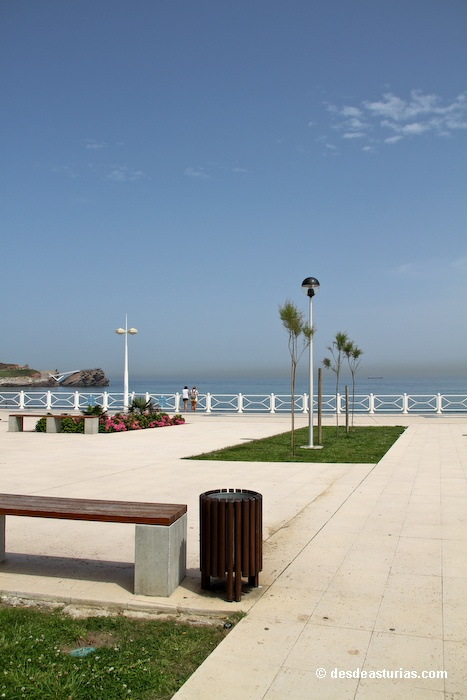 Playa de Salinas Castrillón. Playas Asturias [Más info] http://www.desdeasturias.com/playa-de-salinas-y-el-espartal/