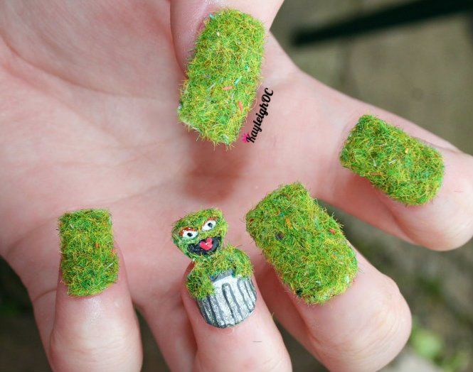 23 best Outrageous nails images on Pinterest | Nail scissors, Crazy ...