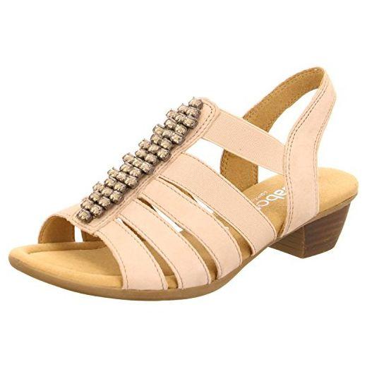 Gabor Shoes Gabor, Damen Sandalette 22473-43, UK (8.5, beige) - Sandalen für frauen (*Partner-Link)